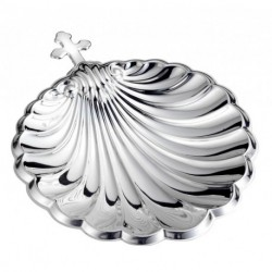 Cruz De Portugal Baptism Shell by Pedro Duran in Sterling silver