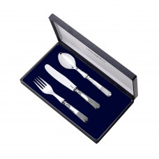 Set of Three Silverware by Pedro Duran in Silver