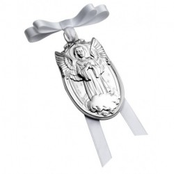 Angel Cradle Medallion by Pedro Duran in Sterling silver