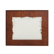 Siena Homenage plaque by Pedro Duran in Silver plated