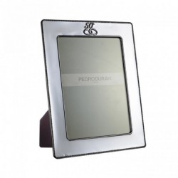 Aniversario 50 Photo frame by Pedro Duran in Silver plated