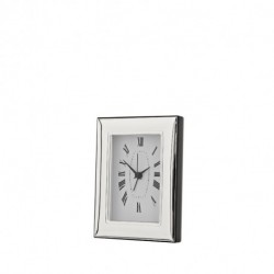 Bach Clock by Pedro Duran in Silver plated