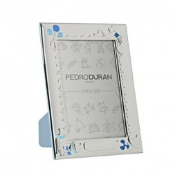 Canastilla Photo frame by Pedro Duran in Silver plated