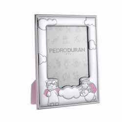 Querubin Photo frame by Pedro Duran in Silver plated