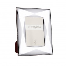 Cubista Photo Frame by Pedro Duran in silver plated